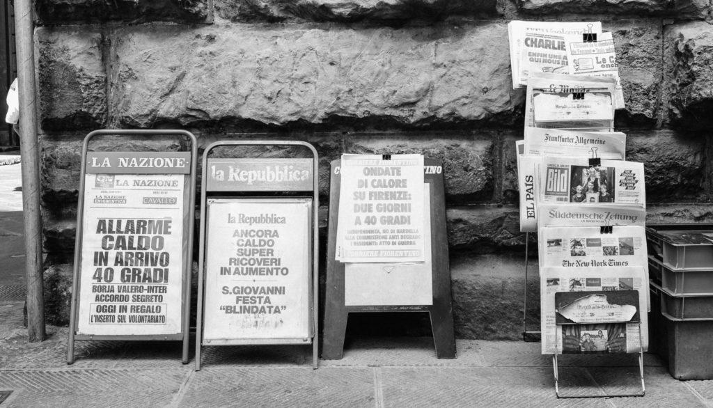 prensa italiana