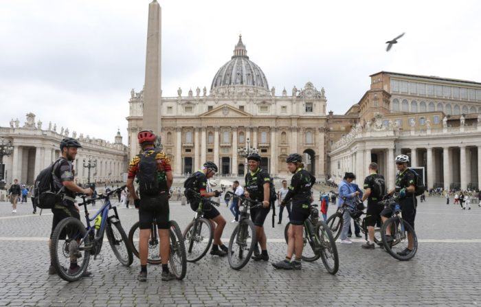 ciclistas via francigena